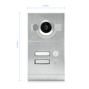 Image 5 - Homefong 7 Inch Wifi Video Door Phone Apartment Video Intercom System Doorbell With 2 Button IP Wireless Access Control System