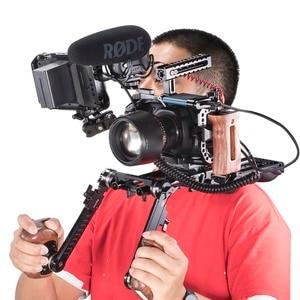 Image 5 - SmallRig BMPCC 4K 6K jaula de cámara para Blackmagic diseño cámara de cine de bolsillo forma jaula de ajuste + Nato Rail Could Shoe Mount  2203