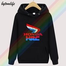 Honda HRC 2020 Retro Autumn high quality Hoodies Top Hoodie Mens wool Clothing Sweatshirt Pullover Asian size