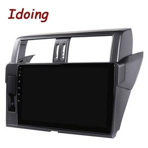 "Image 5 - Idoing 10.2 ""2.5D 4G + 64G Android Auto Radio Multimedia Gps Speler Voor Toyota Land Cruiser Prado 150 2013 2017 Dsp Geen 2DIN Dvd"