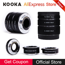 Macro AF Metal Extension Tube Set Auto Focus TTL Exposure 10mm 16mm 21mm Kit SLR Camera Lens Adapter Ring for Nikon 1-Mount Lens