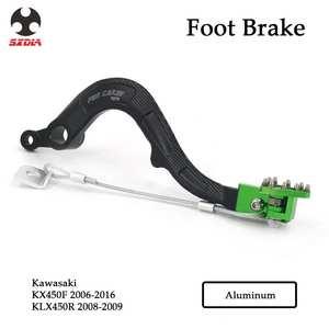 Billet Forging Rear Brake Pedal Lever For KAWASAKI KX450F KXF450 06 07 08 09-16