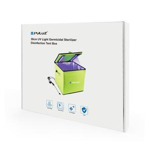 Image 2 - PULUZ UV Light Germicidal Sterilizer Disinfection Tent Box for Mobile Phone Tablet Sterilizer Storage Box
