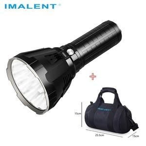 Image 1 - IMALENT MS18 LED פנס CREE XHP70.2 עמיד למים להטעין פלאש אור עם 21700 סוללה + OLED תצוגה אינטליגנטי טעינה