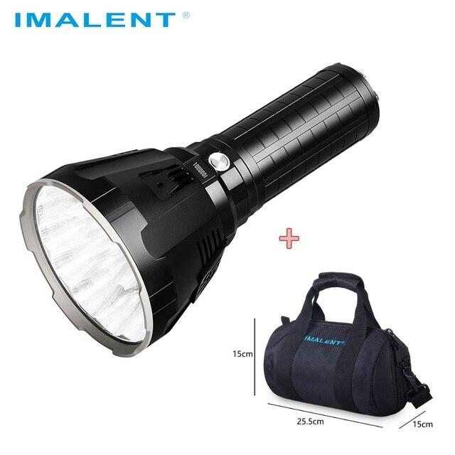 IMALENT MS18 LED פנס CREE XHP70.2 עמיד למים להטעין פלאש אור עם 21700 סוללה + OLED תצוגה אינטליגנטי טעינה