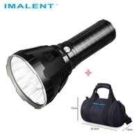 IMALENT MS18 LED Taschenlampe CREE XHP70.2 Wasserdichte Aufladen Flash licht mit 21700 Batterie + OLED Display Intelligente Lade