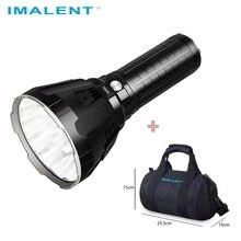 IMALENT MS18 مصباح ليد جيب كري XHP70.2 مقاوم للماء شحن ضوء فلاش مع 21700 بطارية + شاشة أوليد شحن ذكي