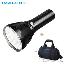 IMALENT linterna LED MS18 CREE XHP70.2, luz Flash recargable a prueba de agua con batería 21700 + pantalla OLED de Carga inteligente
