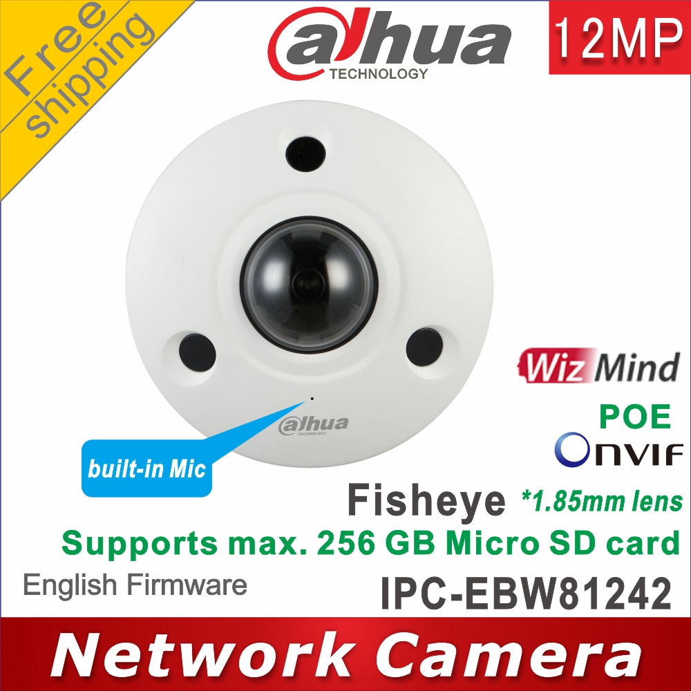 Сетевой видеорегистратор Dahua IPC-EBW81242 12MP сети ИК