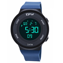 Men Sports Watches Stopwatch Alarm Chrono Digital Watch Electronic Hand for Man Waterproof Silicone Strap Unisex