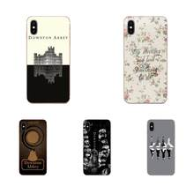 TPU Cell Phone Case Cover For Motorola Moto G G2 G3 G4 G5 G6 G7 Plus Downton Abbey highclere castle(China)