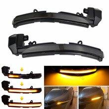 자동차 액세서리 다이내믹 턴 시그널 라이트 LED 사이드 미러 인디케이터 Blinker Fit for Jaguar XK XKR X150 2007 2014 XE X760 15 20