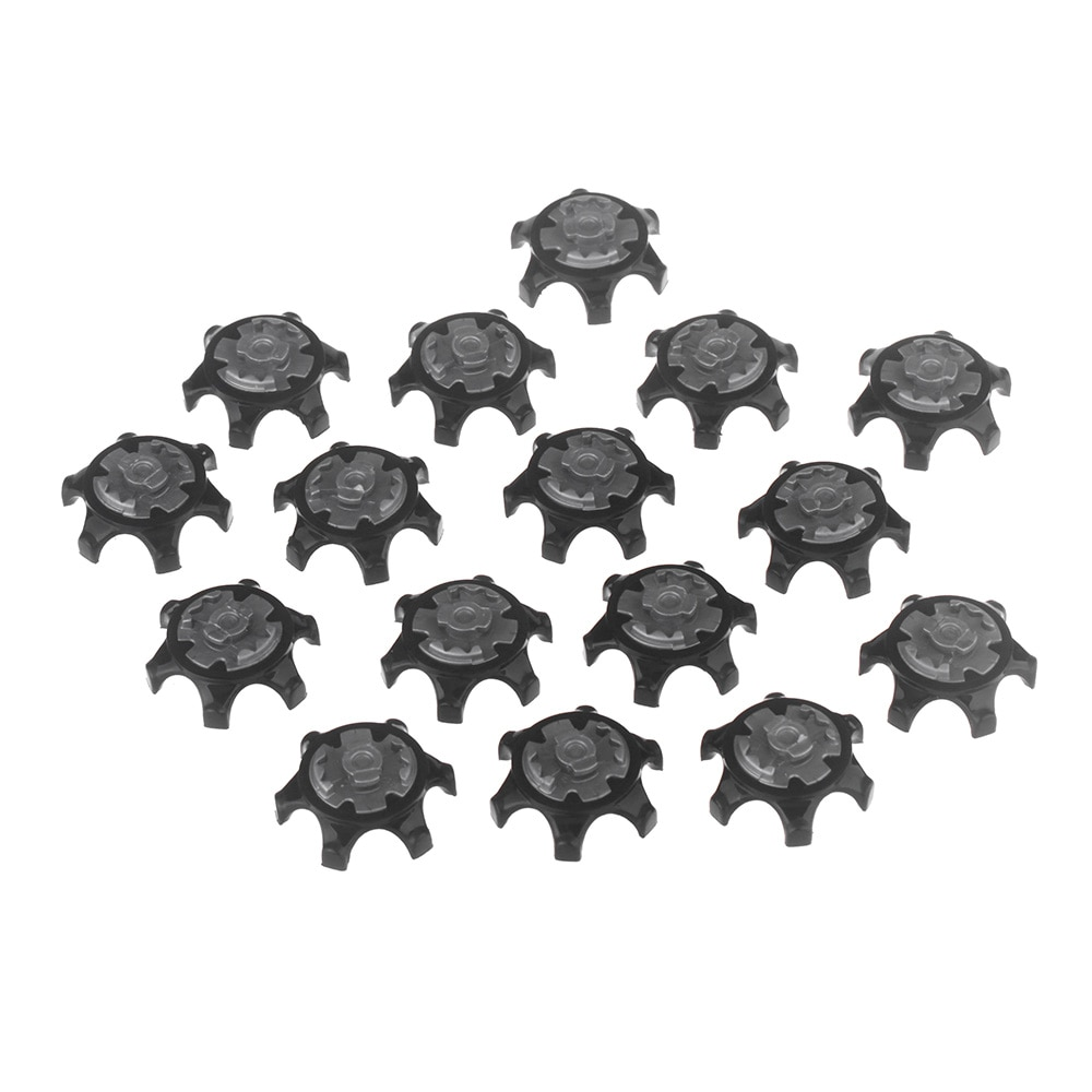 16pcs/Set Easy Replacement Golf Spikes Ultra Thin Cleats For Golf Shoes Ultra Thin Cleats Black Wholesale