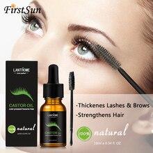 10 мл касторовое масло для роста волос сыворотка для роста ресниц лифтинг ресницы толстые брови рост Enhancer Eye Сыворотка для ресниц тушь для ресниц