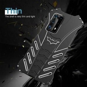 Прочный чехол для телефона Huawei P40, P40 Pro, металлический чехол с усиленной пылью и Бэтменом, чехол для Huawei P30, p30 lite, чехол