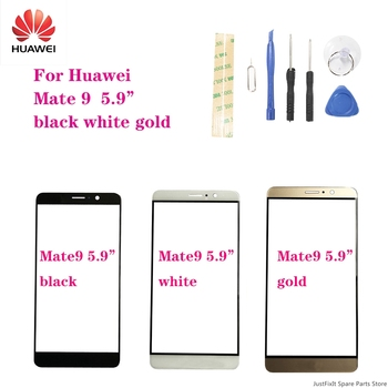 For HuaWei Mate 9 Mate9 5.9'' Mobile Touch Screen Outer Glass Front Glass Panel Replacement