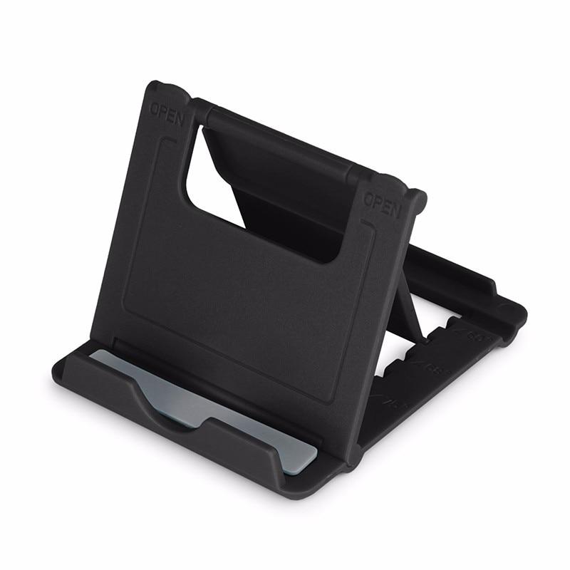 Mini Plastic Phone Holder Tablet Desk Stand Universal Foldable Holder Adjustable Mobile Phone Bracket For Phones PAD