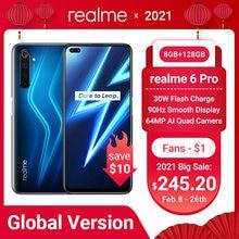 Realme 6 pro 6pro глобальная Версия 8 Гб Оперативная память