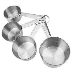 NICEYARD Kichen akcesoria do mąki jedzenie kawa miarka do gotowania 4 sztuk/zestaw narzędzia do pieczenia narzędzia pomiarowe ze skalą w Miarki łyżkowe od Dom i ogród na