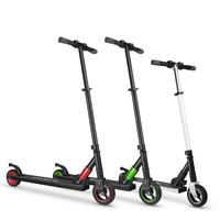 250W Aluminum Alloy Shockproof Motor Scooter 2019 Hydraulic Suspension Foldable Electric Scootor Max Load Capacity 65kg