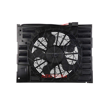 Cooling fan for BMW E65 7 Series,Condenser electronic fan,water tank fan for BMW 7 Series 64546921379 image