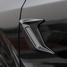 2 stücke Auto Seite Vent Simulation Hai Kiemen Aufkleber Dekorative Für Renault Koleos Clio Scenic Megane Duster Sandero Captur Twingo