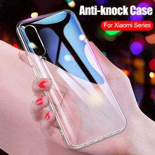 Case Clear Slim Soft TPU for Xiaomi Mi Redmi Note 5 6 7 Pro
