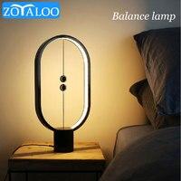 LED Tisch Lampe Balance Kreative Licht USB Aufladbare Touch Control Magentic Mid-air Suspension Schalter Nacht Licht Wohnkultur