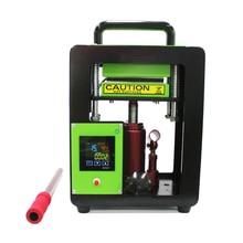 الهيدروليكية دليل 5 طن 6*12 سنتيمتر الصنوبري الصحافة المزدوج آلة التدفئة AP1905 مع 100 ورقة النفط برهان ورقة