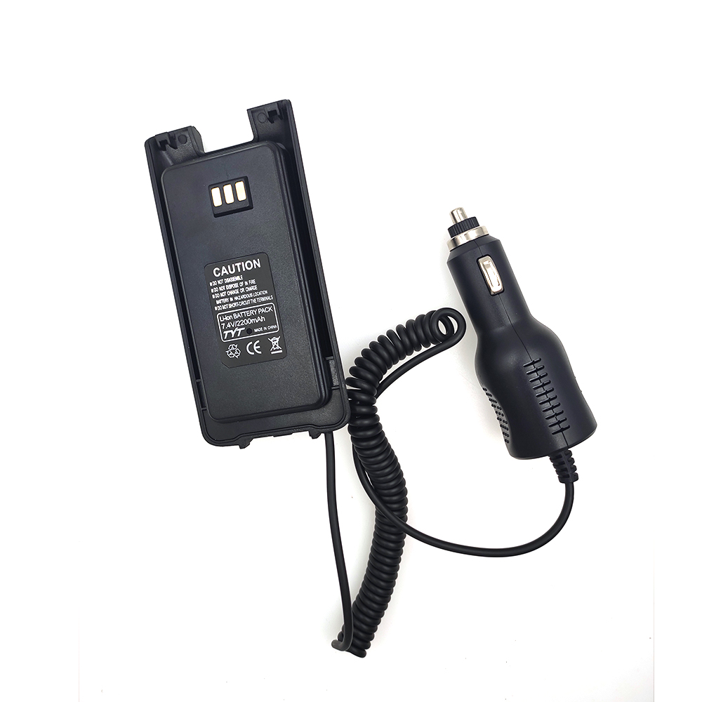 100% Original High Quality MD-UV390 Car Charger Battery Eliminator For TYT MD-390 Dual Band DMR Radio