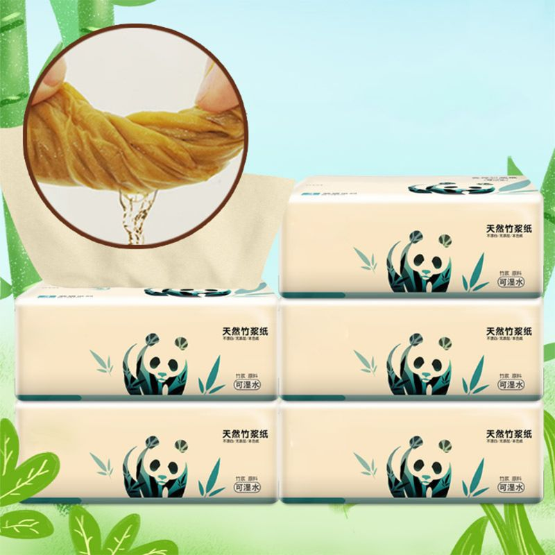 5pcs Silky Smooth Soft Premium 3-Ply Toilet Paper Kitchen Toilet Facial Tissues  Soft Absorbent Tissues Paper 100% Natural Wood