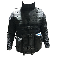 TAK YIYING Molle Airsoft Tactical Vest With Mag Pouch Army Military CS Outdoor Fishing Hunting Vest Black