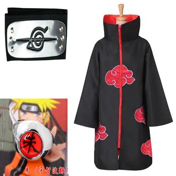S-XXL Naruto kostium Akatsuki płaszcz Cosplay Sasuke Uchiha Cape Cosplay Itachi odzież przebranie na karnawał tanie i dobre opinie CN (pochodzenie) Wykop anime Unisex Dla dorosłych Kurtki Płaszcze COTTON