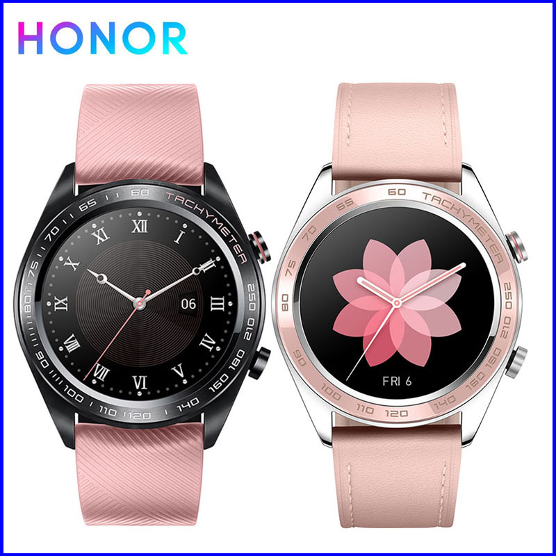 Honor Smart Sports Watches Ladies Watch Heart Rate Sleep Pressure Monitoring Waterproof Wearable Devices (Dream)