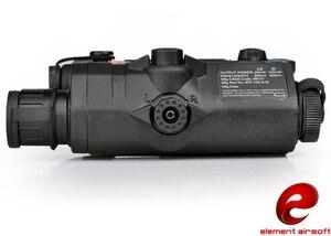 Image 4 - Z TAC element airsoft Weapon Mounted light Tactical LA PEQ15 flashlight EX276 BK