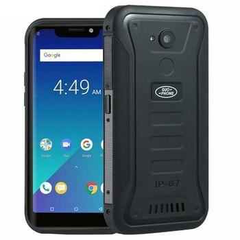 Перейти на Алиэкспресс и купить Guophone X3 4G смартфон IP68 Водонепроницаемый Android 8,1 телефон MTK6739 четырехъядерный 5,5 дюйм4500 мАч 2 ГБ + 16 Гб мобильный телефон