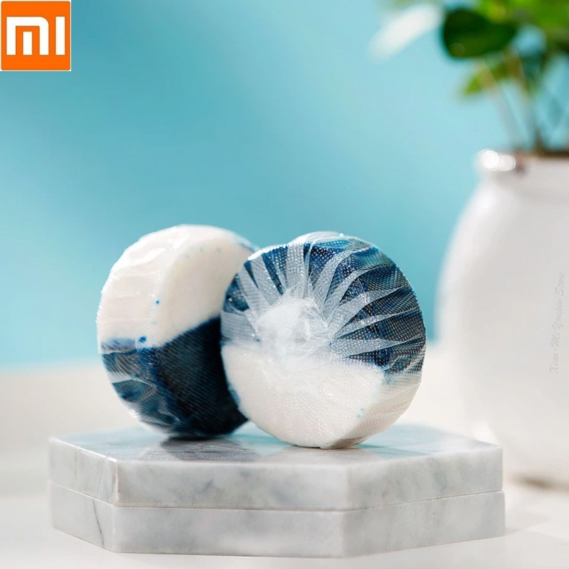 Xiaomi  Clean-n-fresh Double Effect Toilet Block Independent Water-soluble Film Packaging Household Toilet Toilet Tank Cleaning