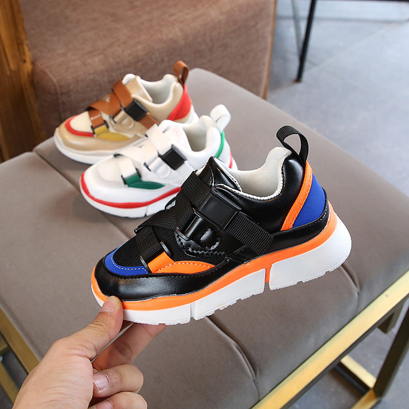 Children's sneakers 2019 new children's shoes autumn mesh breathable casual shoes for boys and girls