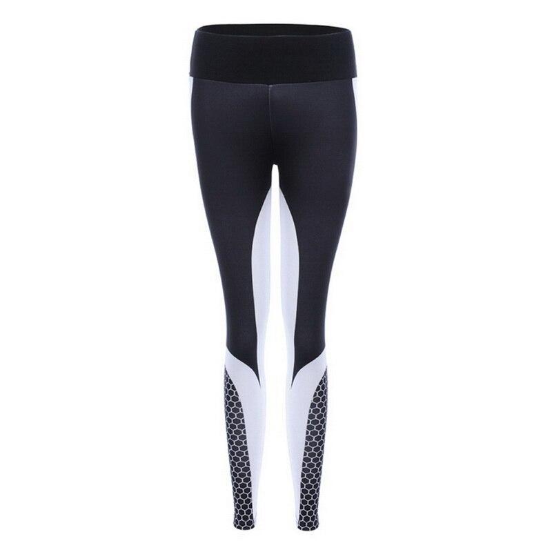 8colors Hot Honeycomb Printed Yoga Pants Women Push Up Sport Leggings Professional Running Leggins Sport Fitness Tights Trousers