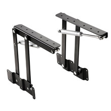 2Pcs Table Hinges Lift Up Coffee Table Top Foldable Mechanism Hardware Furniture Lifting Folding Cabinet Hinge
