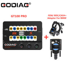 GT100+ ECU Bench Connector OBD II Break Out Box GT100 Pro with Electronic Current Display for BMW FEM/ BDC/CAS4 / CAS4+