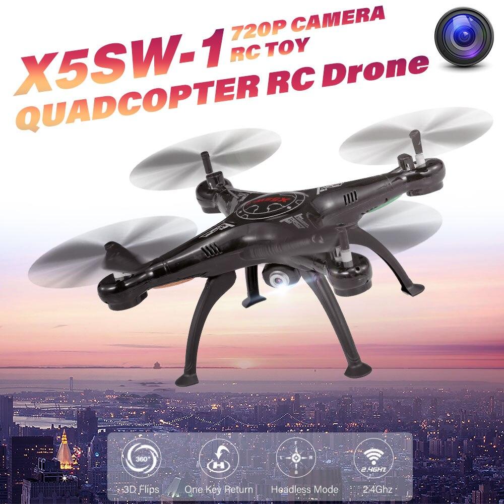 Mini drone Quadcopte X5SW 1 2.4GHz 720P Camera/No Camera Headless Mode 3D Flips RC Helicopter Drone RC Remote Toy RTF