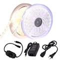 Светодиодная ленсветильник 3014 SMD 1020 с теплым белым/холодным белым светом, 12 В постоянного тока, 5 м