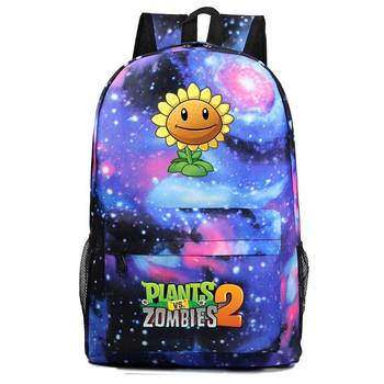 Plants VS Zombies Backpack School Bags For Boys And Girls Schoolbags For Teenagers School Bagpack Satchel Travel Bags