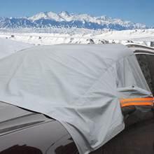 Capa de pára-brisa do carro sol sombra protetor inverno espessamento anti-geada anti-congelamento neve vidro capa de proteção do carro guarda cobre