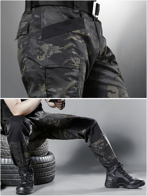 Mege Quality Spring Tactical Pants Military Clothing Army Camouflage Cargo Pants Knee Reinforced Airsoft Durable Dropshipping 44