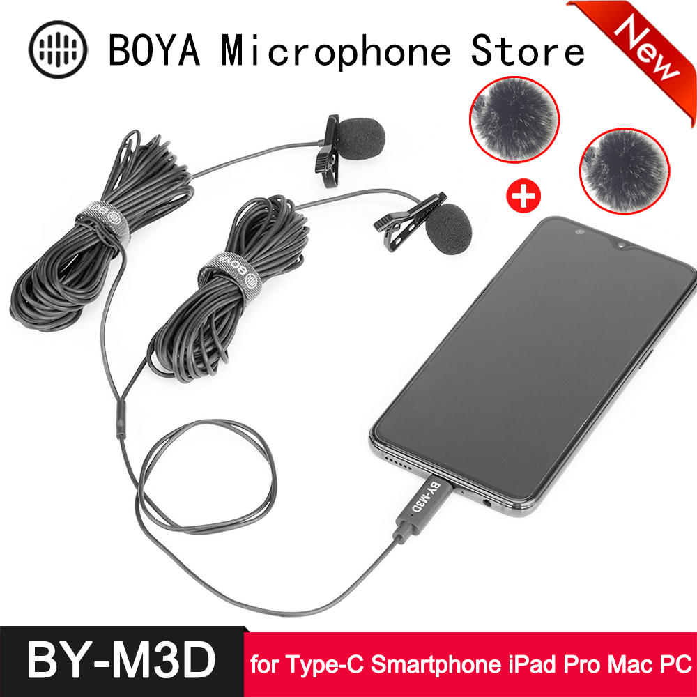 BOYA Universal Lavalier Microphone Wireless by-WM4 Pro K1 Compatible with DSLR Camera Canon Nikon Sony Panasonic Camcorder Smartphone iPhone Huawei Mate-30 Pro for Audio Recording
