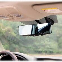 Panorama Rückspiegel Universal Weitwinkel Rückspiegel mit Saug-Installation Auto Innen Spiegel Rückspiegel