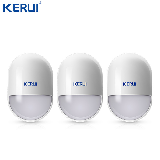 3pcs KERUI P829 Wireless Moverment Sensor Pir Motion Detector Low Battery Reminder For Home Security Alarm System Anti tamper