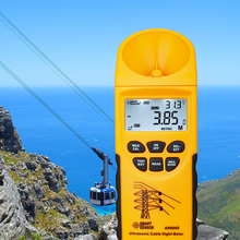 Height-Meter Measuring-Range Smart-Sensor Lcd-Display Ultrasonic-Cable AR600E Plane-3-15m